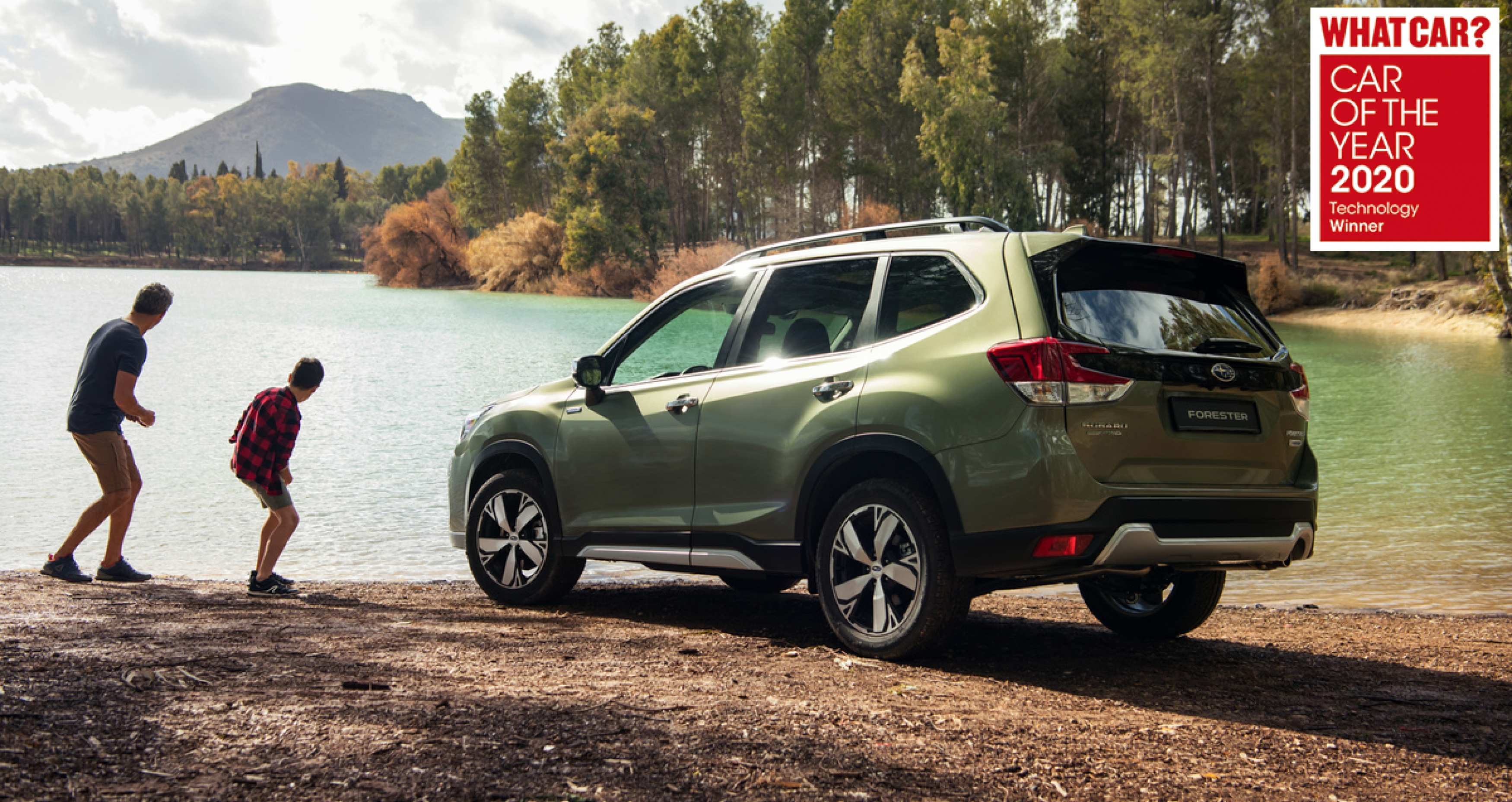 Forester e-BOXER - What Car? Car Of The Year 2020 Technology Award