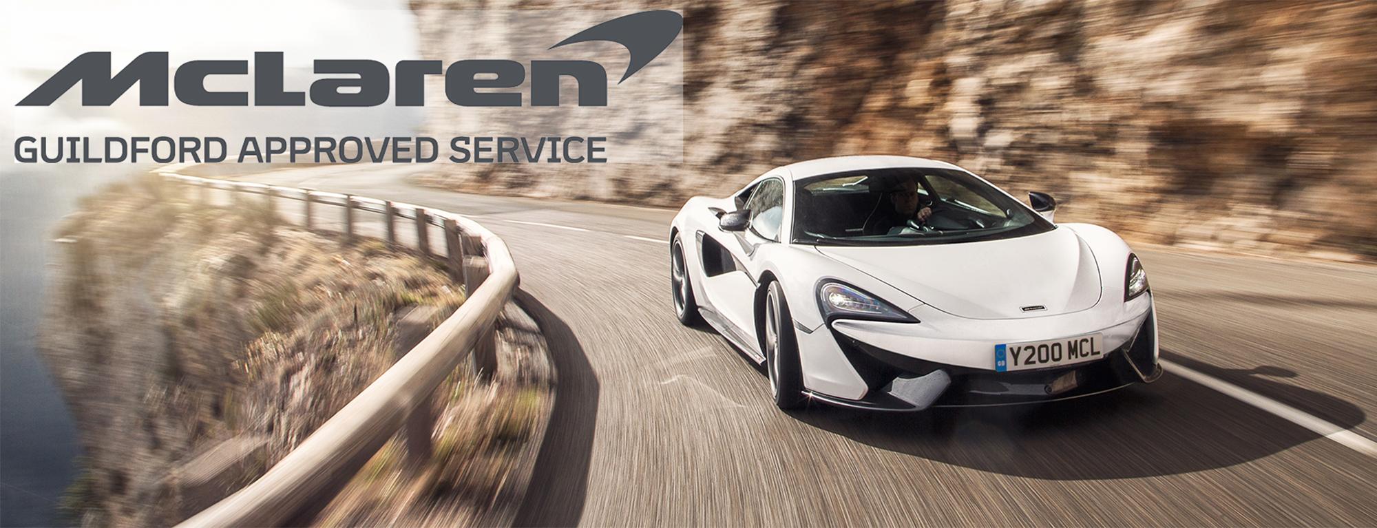 McLaren Approved Guildford
