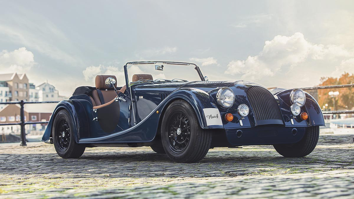Morgan Finance Offer - Exclusivity has never been so Affordable Morgan Plus 4 for £399 per month
