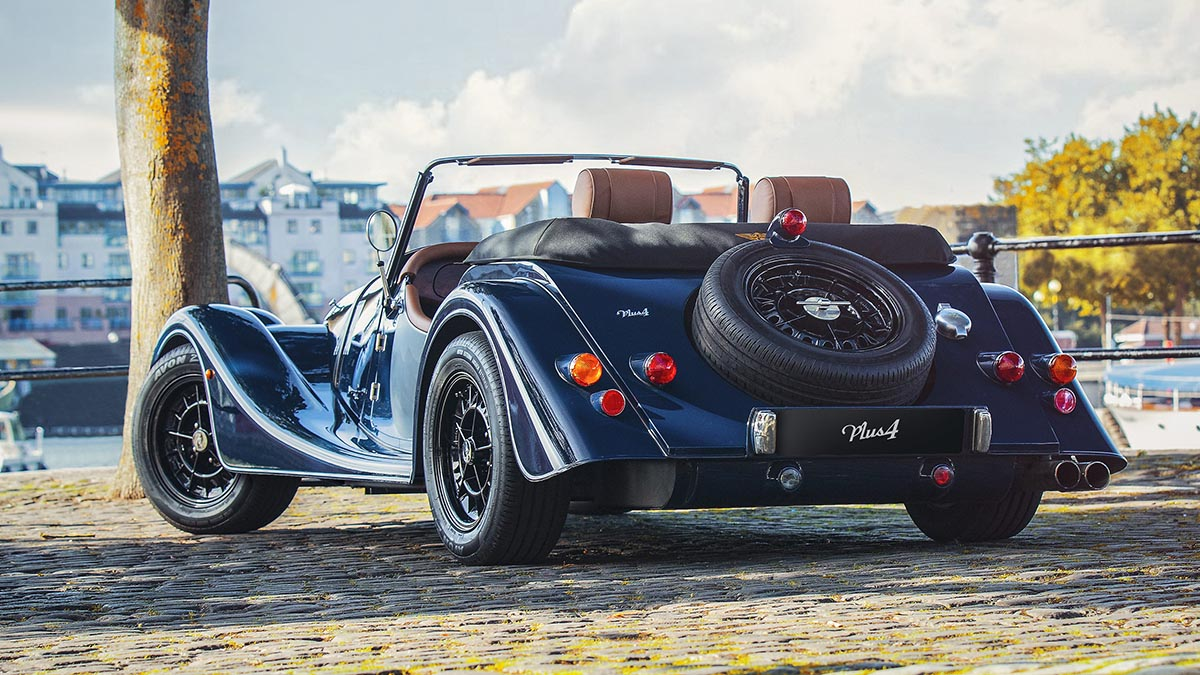 Morgan Finance Offer - Exclusivity has never been so Affordable Morgan Plus 4 for £399 per month - 1