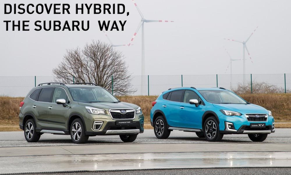 Subaru Forester & XV Hybrid Test Drive Event