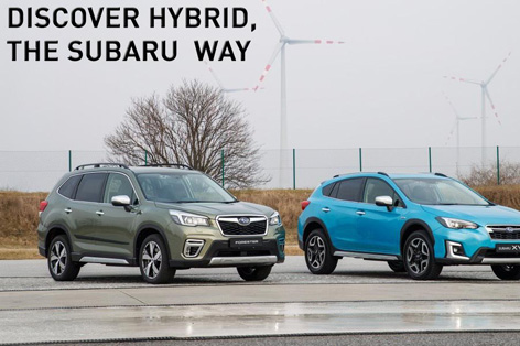 Discover Hybrid, The Subaru Way