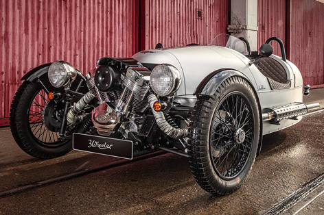 Morgan Finance Offer - Turning Dreams into Reality. Morgan 3 Wheeler for £399 per month.